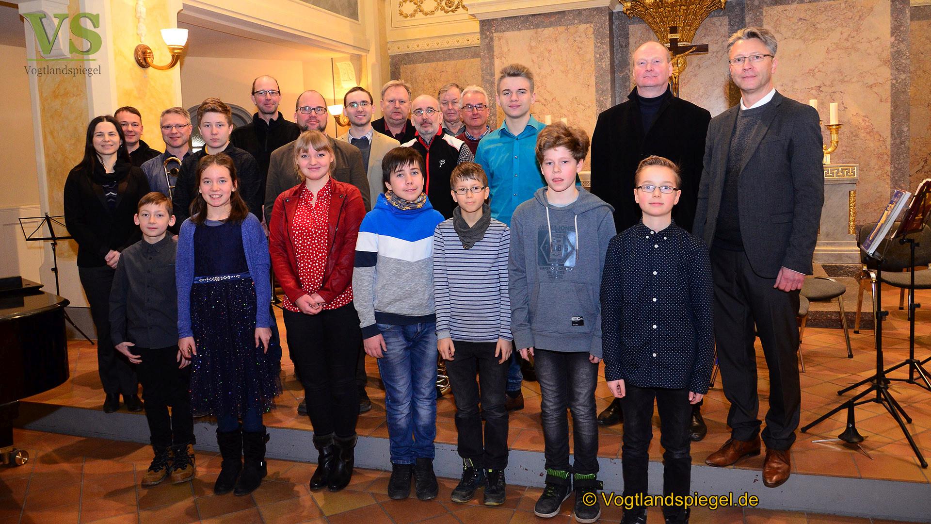 """Musikschule Greiz: Auftakt der Abteilungskonzerte mit """"...etwas blechern"""""""