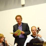 Studenten schwingen mit Vogtland Philharmonie Greiz/Reichenbach den Taktstock