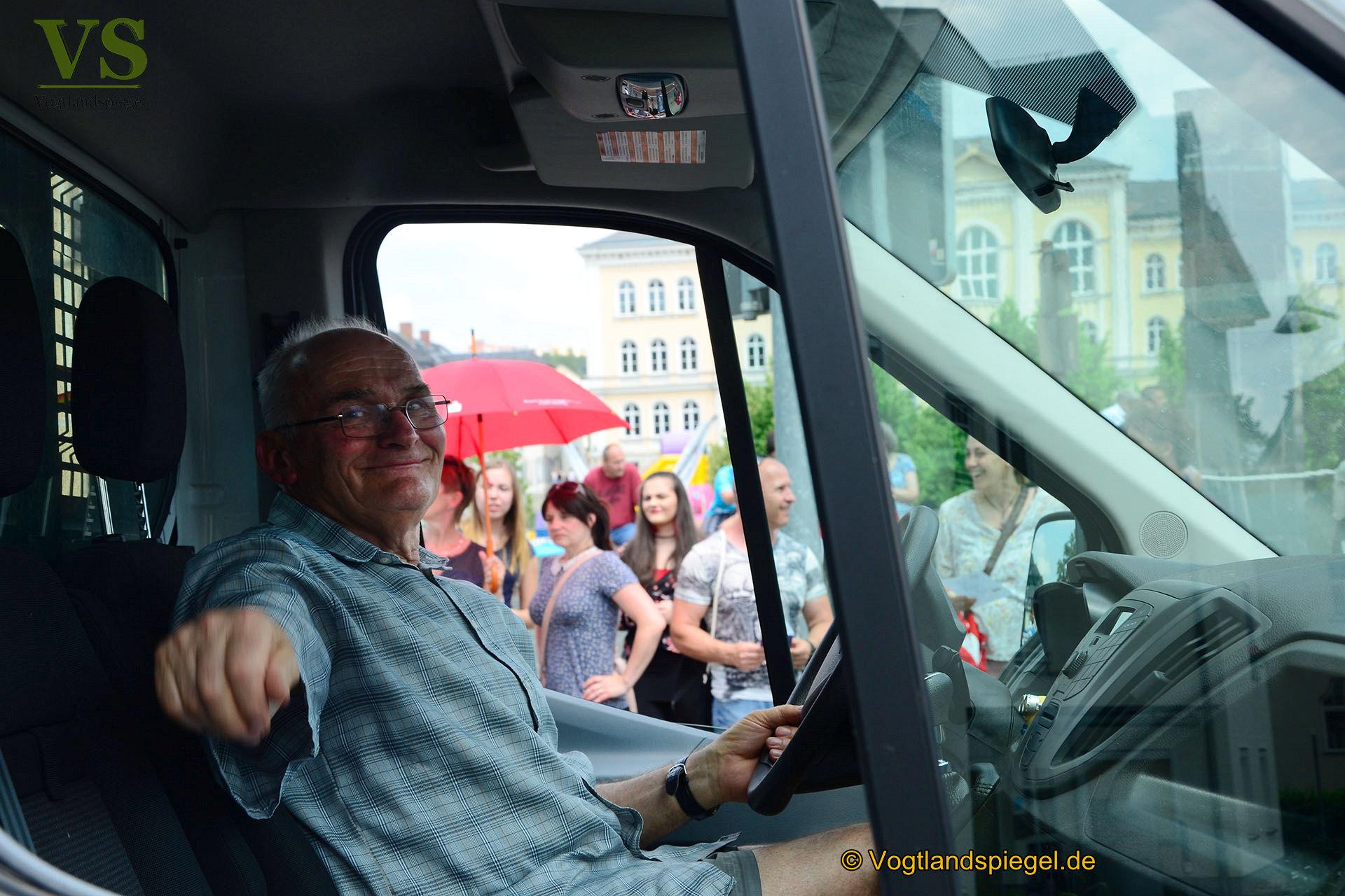 22. Festumzug beim 25. Park- und Schlossfest in Greiz