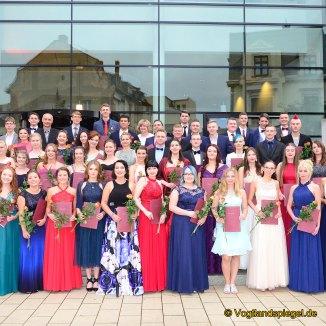 Ernst-Arnold-Schule: Feierliche Zeugnisübergabe an Abiturienten