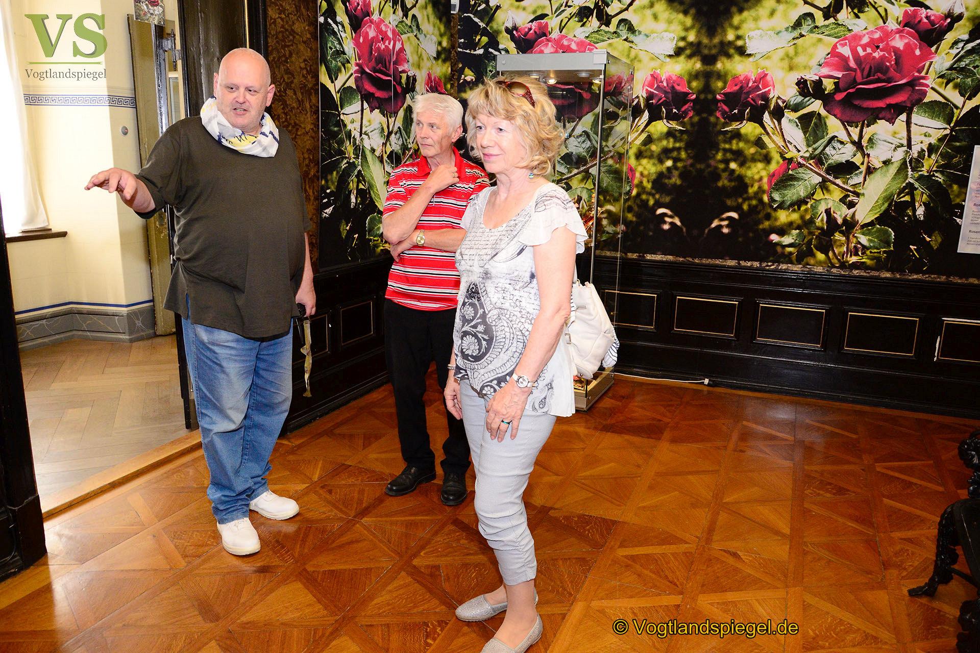 Museen der Schloss-und Residenzstadt Greiz: Rosenvortrag fiel aus