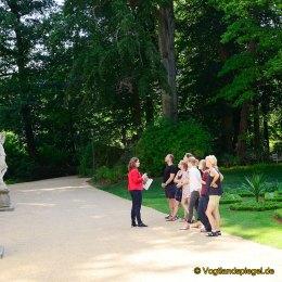 Sommerpalais Greiz: Treffen der wissenschaftlichen Volontäre aus Thüringen, Sachsen-Anhalt und Sachsen