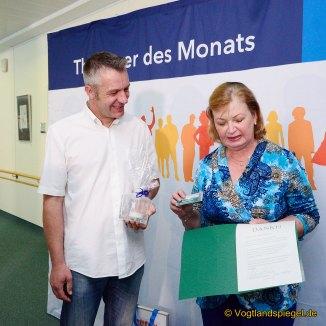 "mdr-Fernsehen: Bernd Lehmann ist ""Thüringer des Monats"""