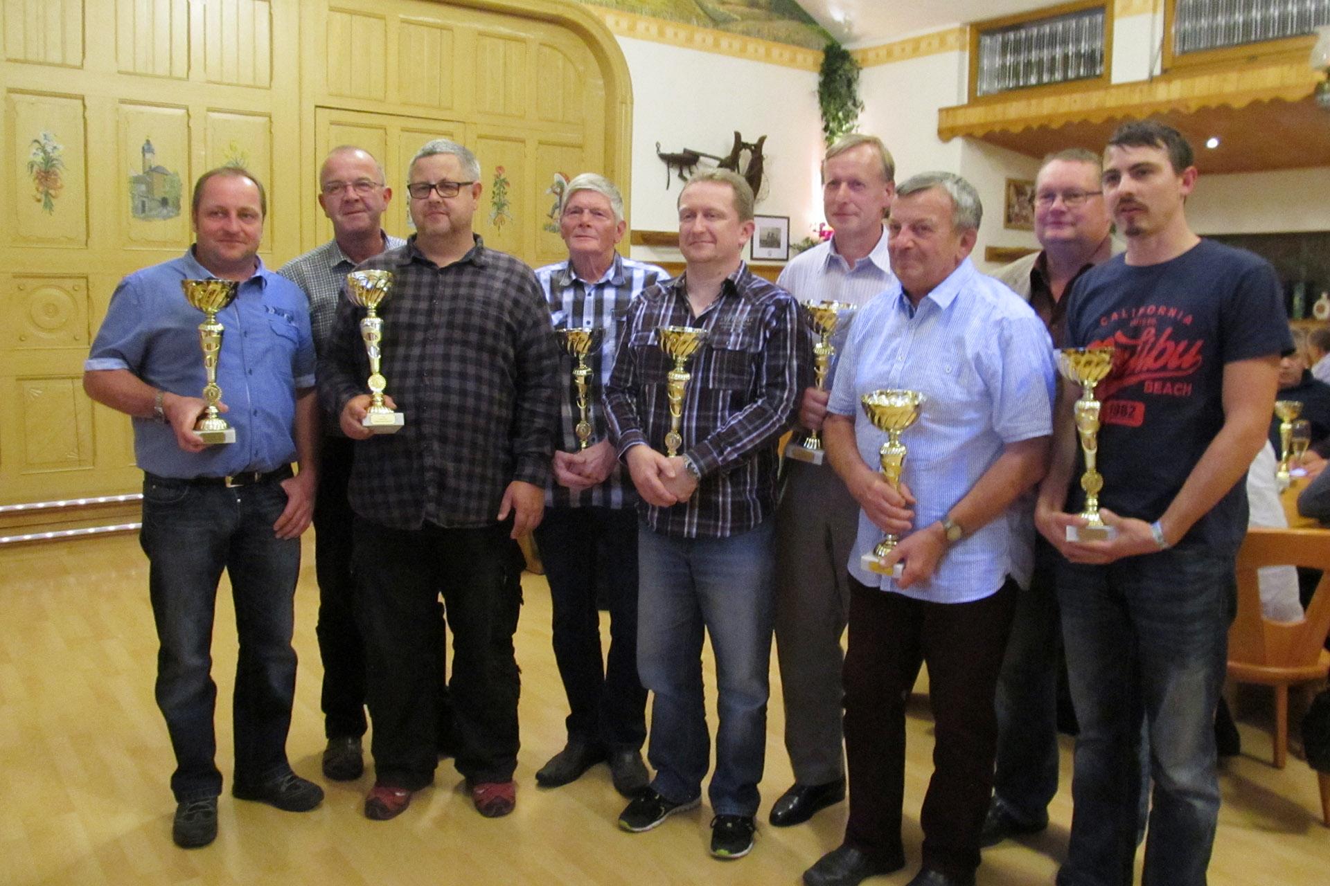 MC Greiz: Siegerehrung der Ostthüringer Oldtimermeisterschaft 2018