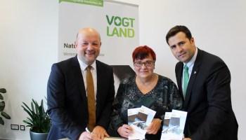Kooperationsvertrag zwischen Vogtlandhalle Greiz und Tourismusverband Vogtland