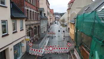 Greizer Marienstraße weiter gesperrt