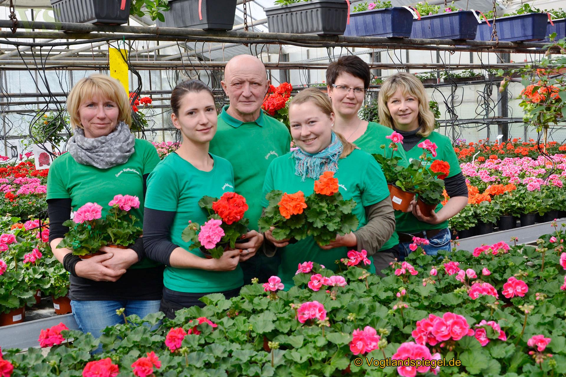 Greizer Vogtlandblumen GmbH: Start ins Blütenmeer