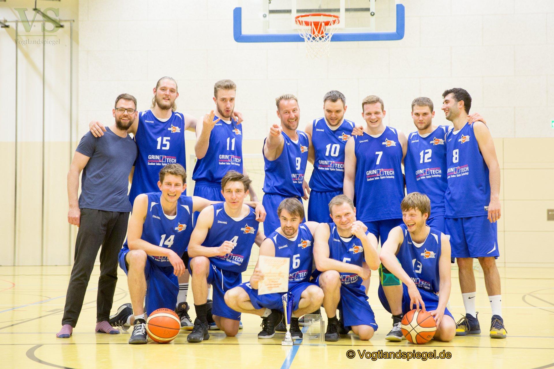 Thüringenpokal Finalspiele der Männer und Frauen im Basketball