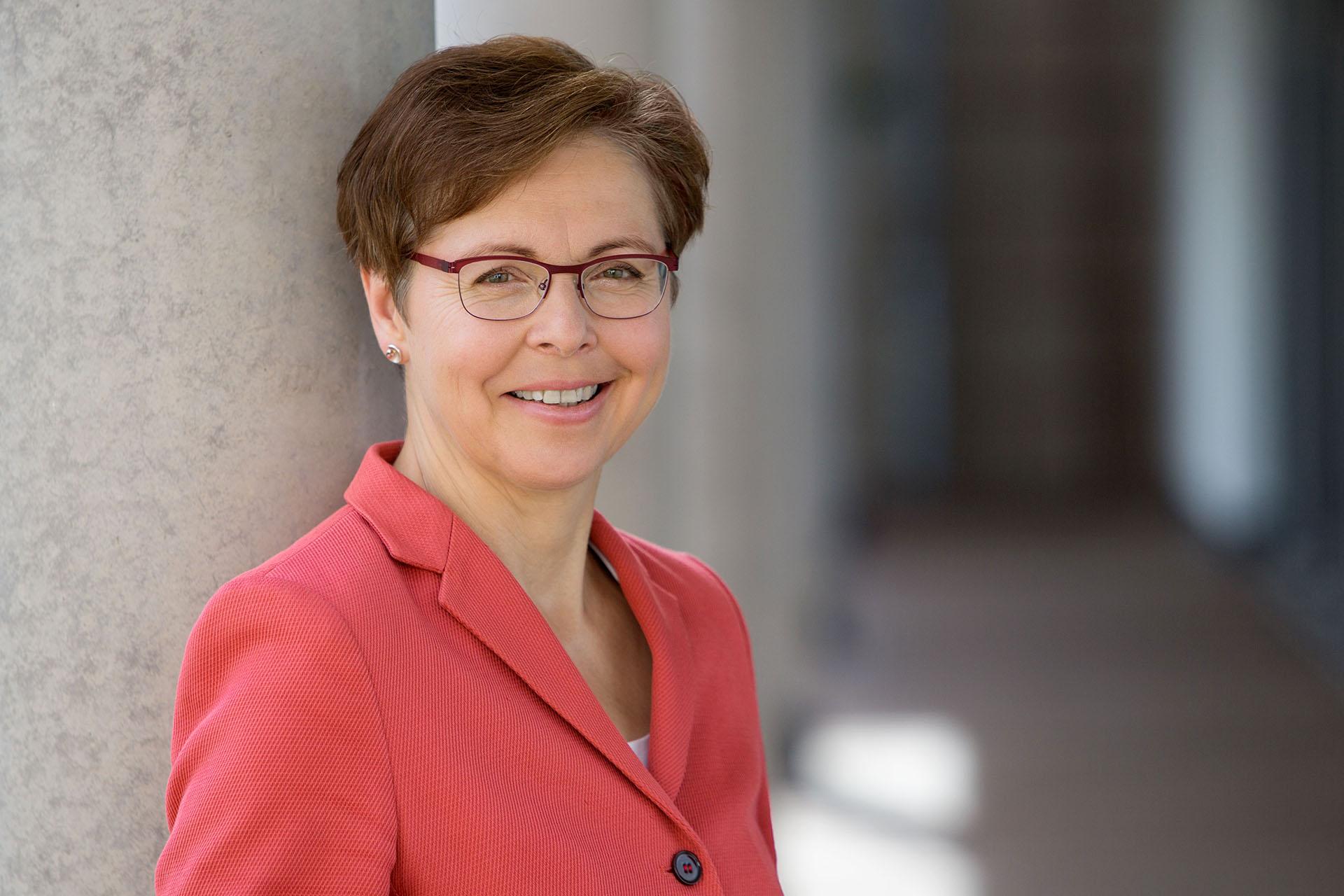 Thüringer Finanzministerin und Stellvertretende Ministerpräsidentin Heike Taubert (SPD)