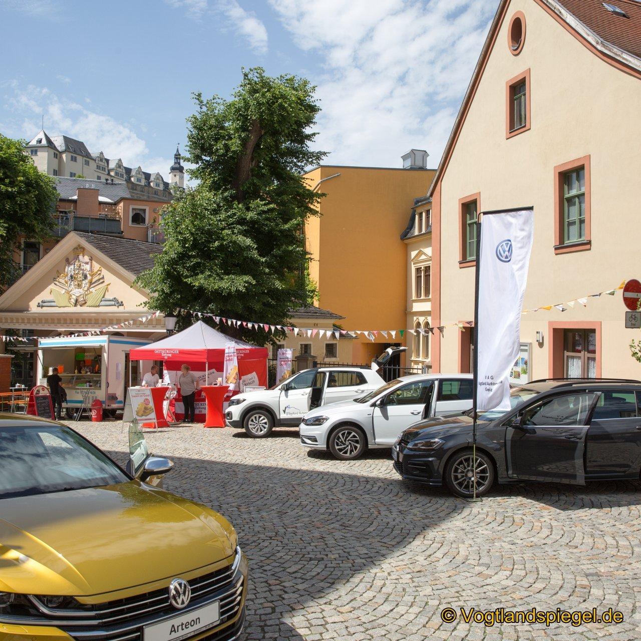 Samstag feiern die Greizer und ihre Gäste friedlich und ausgelassen ihr Park-und Schlossfest