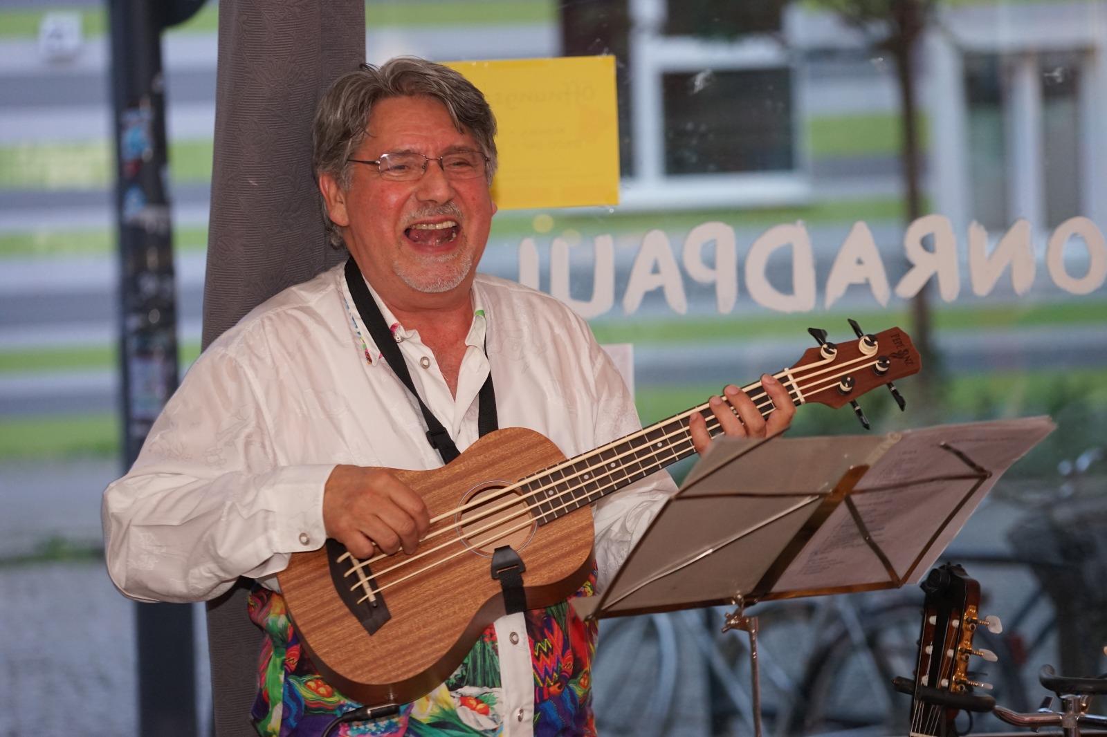 Der chilenische Musiker José Pérez-