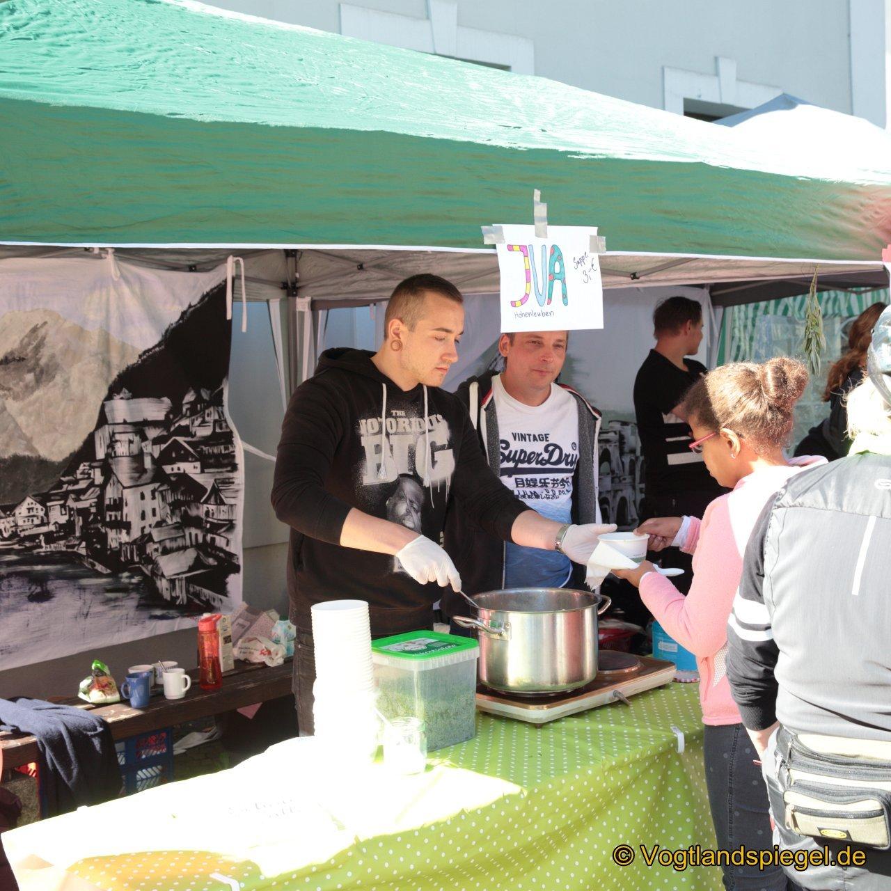Greizer Vereine kochen nach internationalen Rezepten