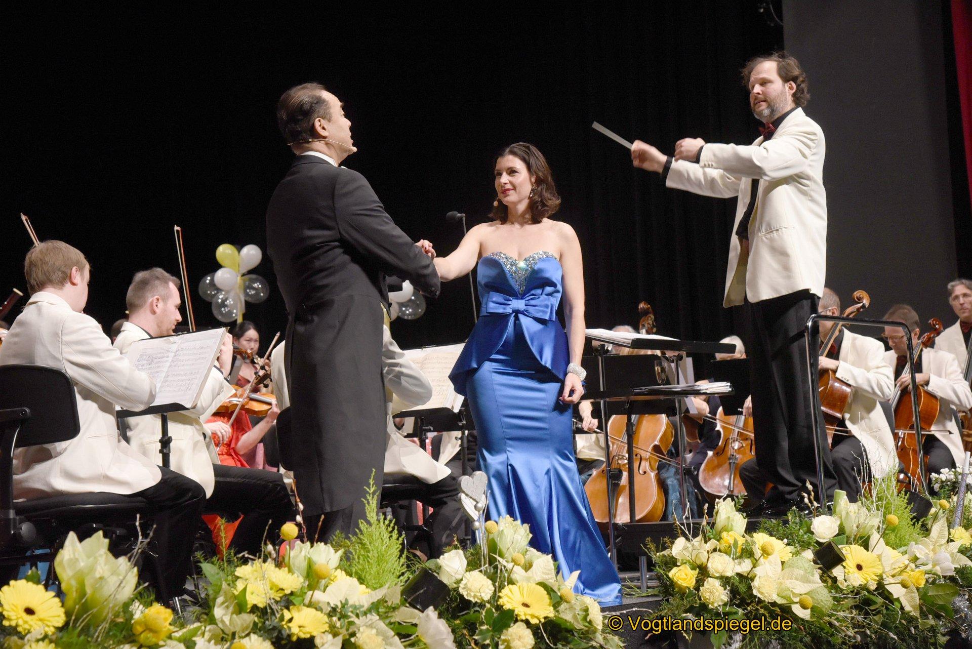 Silvesterkonzert mit der Vogtland Philharmonie. Foto: Christian Freund