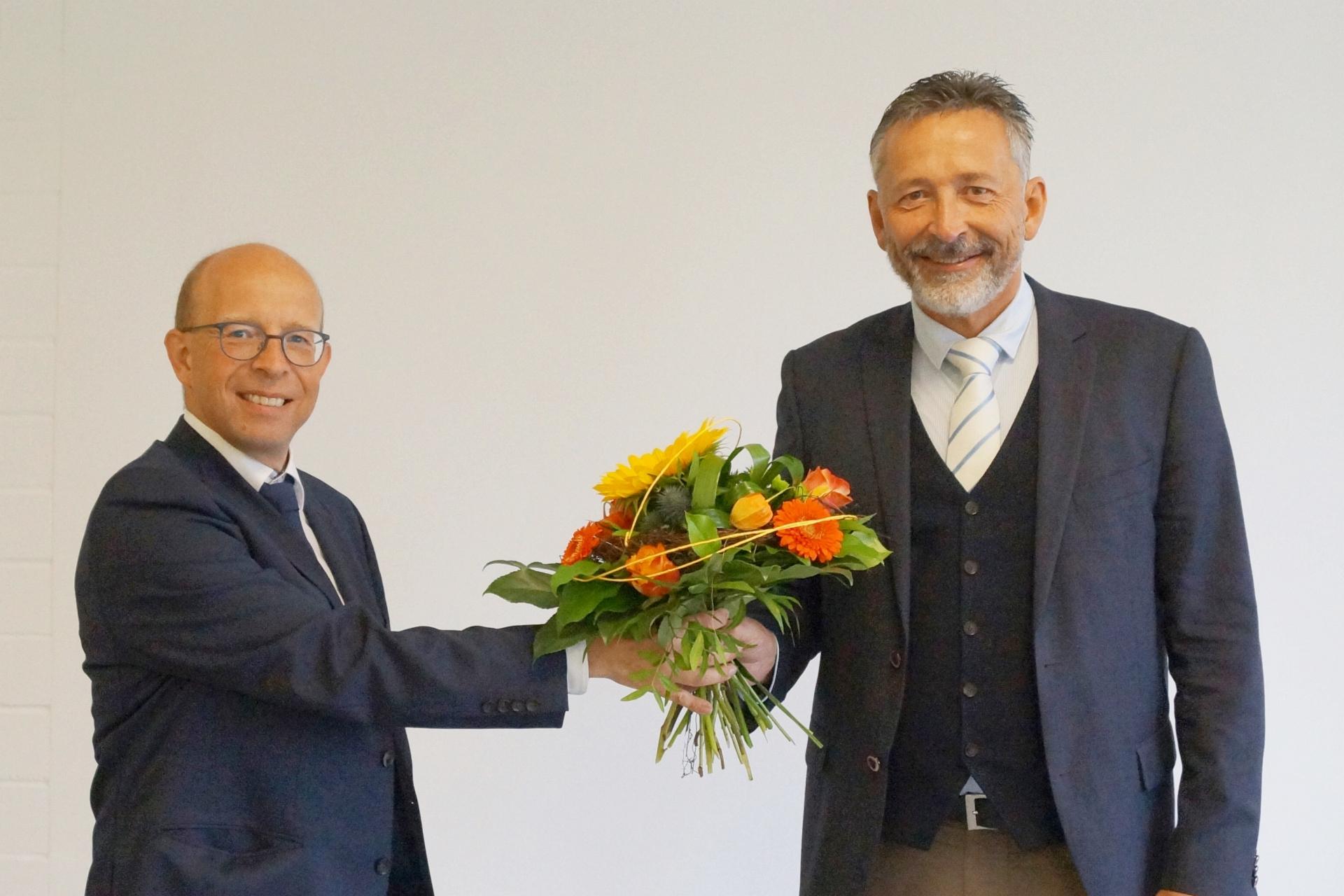 Neuer Verwaltungsdirektor im Krankenhaus Schleiz