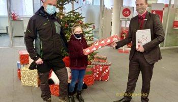 Sparkasse erfüllt Kinderwünsche zu Weihnachten