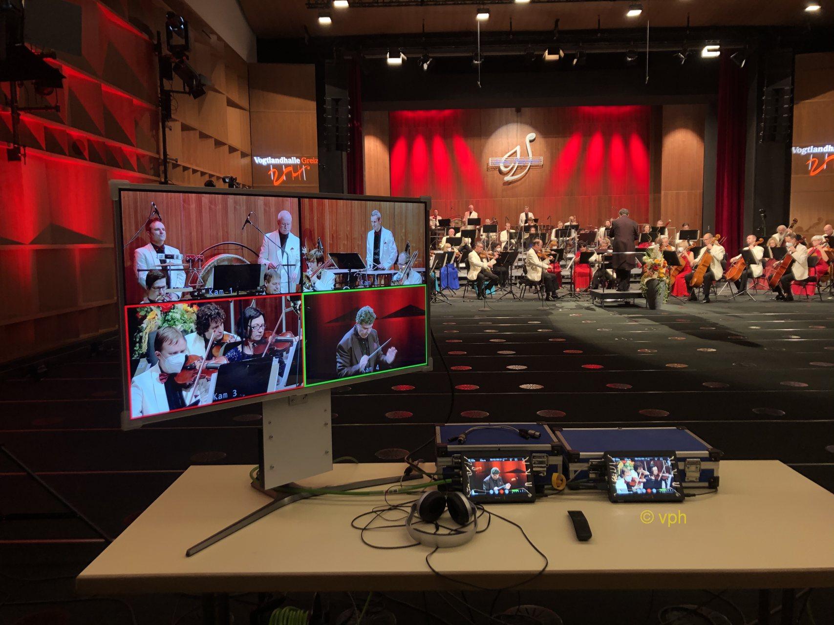 Neujahrskonzert der Vogtland Philharmonie jetzt auch im RegionalTV