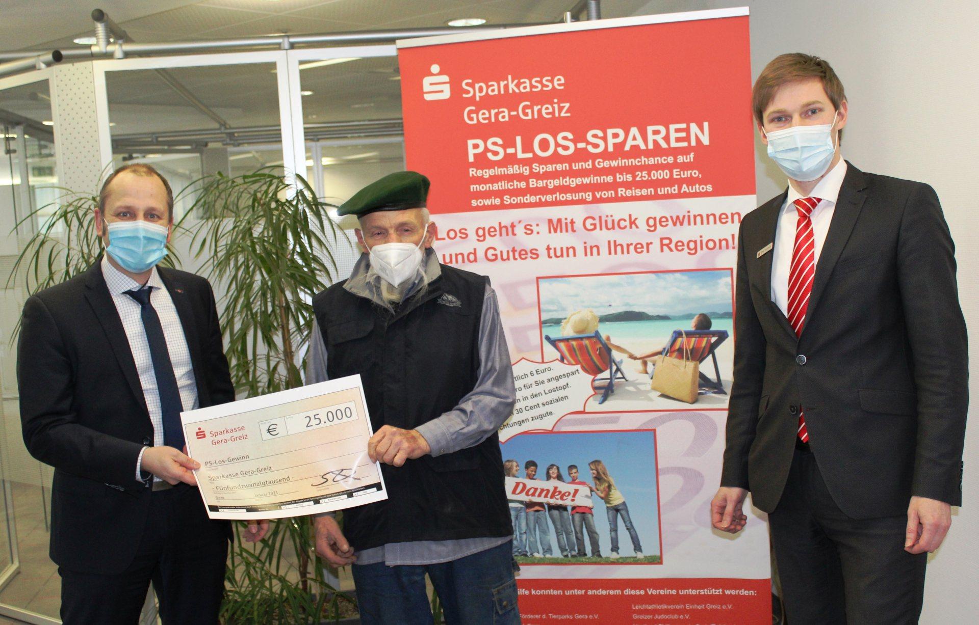 Hauptgewinn im PS-Los-Sparen nach Gera