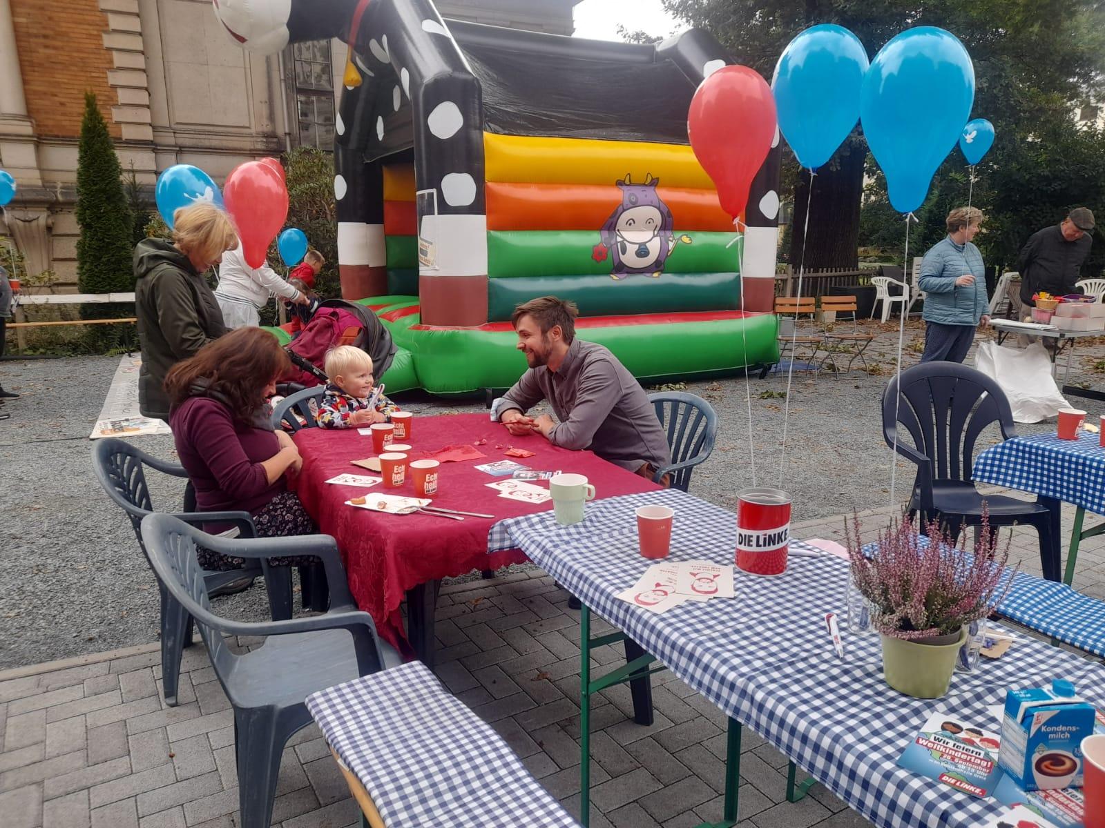 Kinderfest der Linken in Greiz