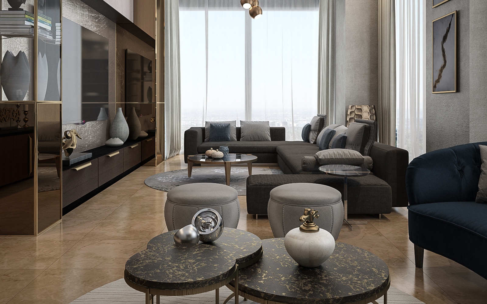 Vogue Design - Istanbul Basaksehir Flat2