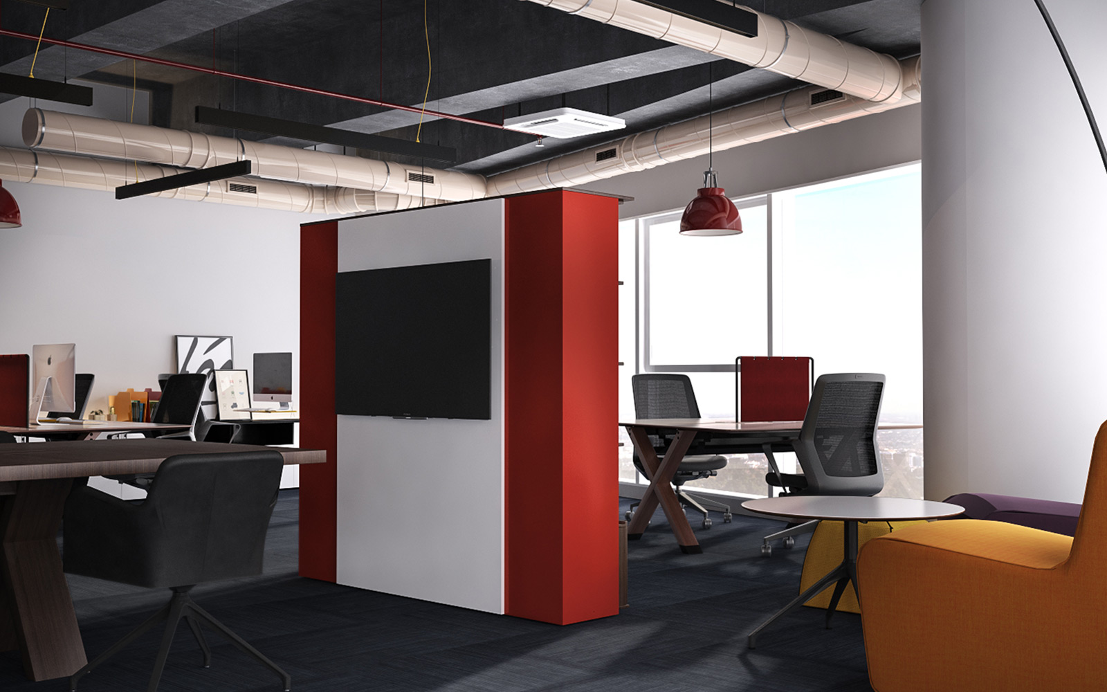 Vogue Design - Vogue Office at Mall Of Istanbul1