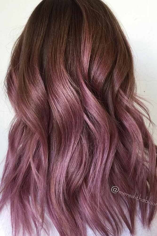Ide Des Couleurs De Cheveux Chocolate Lilac Hair Has
