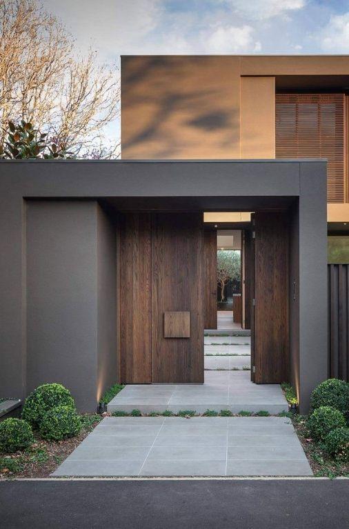 Inspirations Design Extrieur De Maison  Entrance door  Bay House in Melbourne Australia by