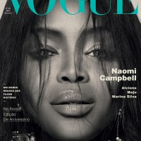 Naomi Campbell Throughout the Years in Vogue