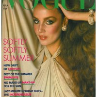 Jerry Hall Throughout the Years in Vogue