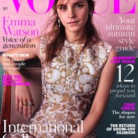 Emma Watson Throughout the Years in Vogue