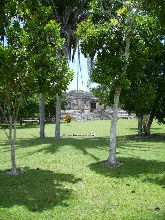 Costa Maya, Mexique ( Kohunlich-site Maya)