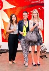 Lauren Circosta, Marg Silva and Emma Bloomfield