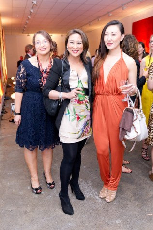 Sharon Smith, Phoebe Garland and Rebecca Lau