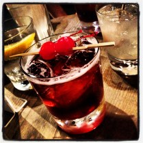 My adult (read alcoholic) version of a Cherry Coke!
