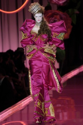 John Galliano para Christian Dior PFW Haute Couture 2004-2005