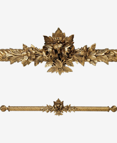 curtain rods hardware for window