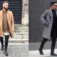 海外,冬,ファッション,メンズ