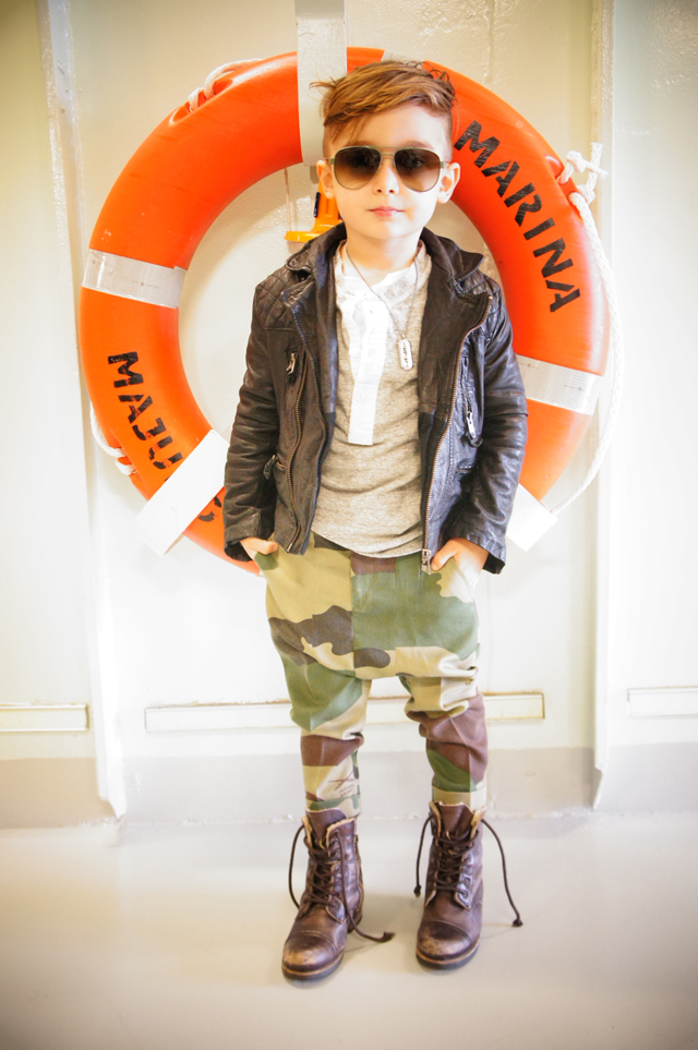 Style Icon 5 year old Trendsetter Alonso Mateo  Voguish Boulevard