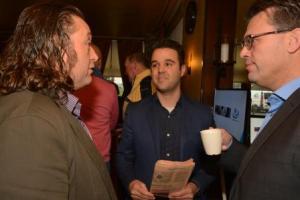 Huub Lommers, 'crowdfunder' Wim Burger en Marco Verbrugge
