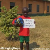 Bringing Hope - be a football player 2