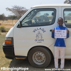 Bringing Hope - be a truck driver