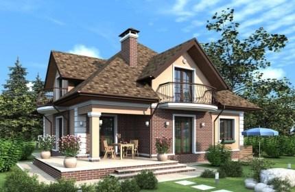 Загородные проекты домов