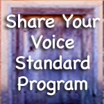 Share Your Voice Standard
