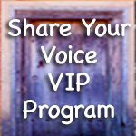 Share Your Voice VIP