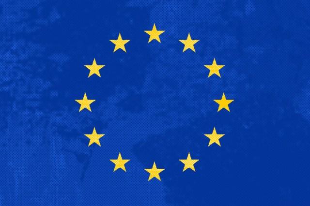 distressed eu flag voice britannia