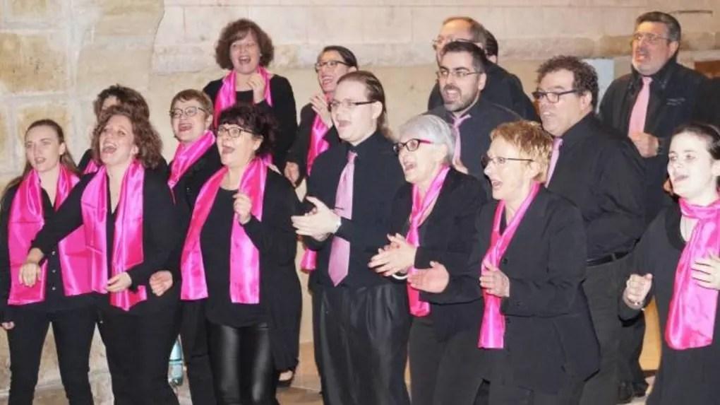 Le groupe des choristes Voice for Gospel deTours