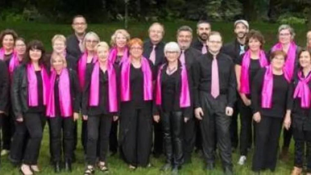 Le chœur Voice of gospel.