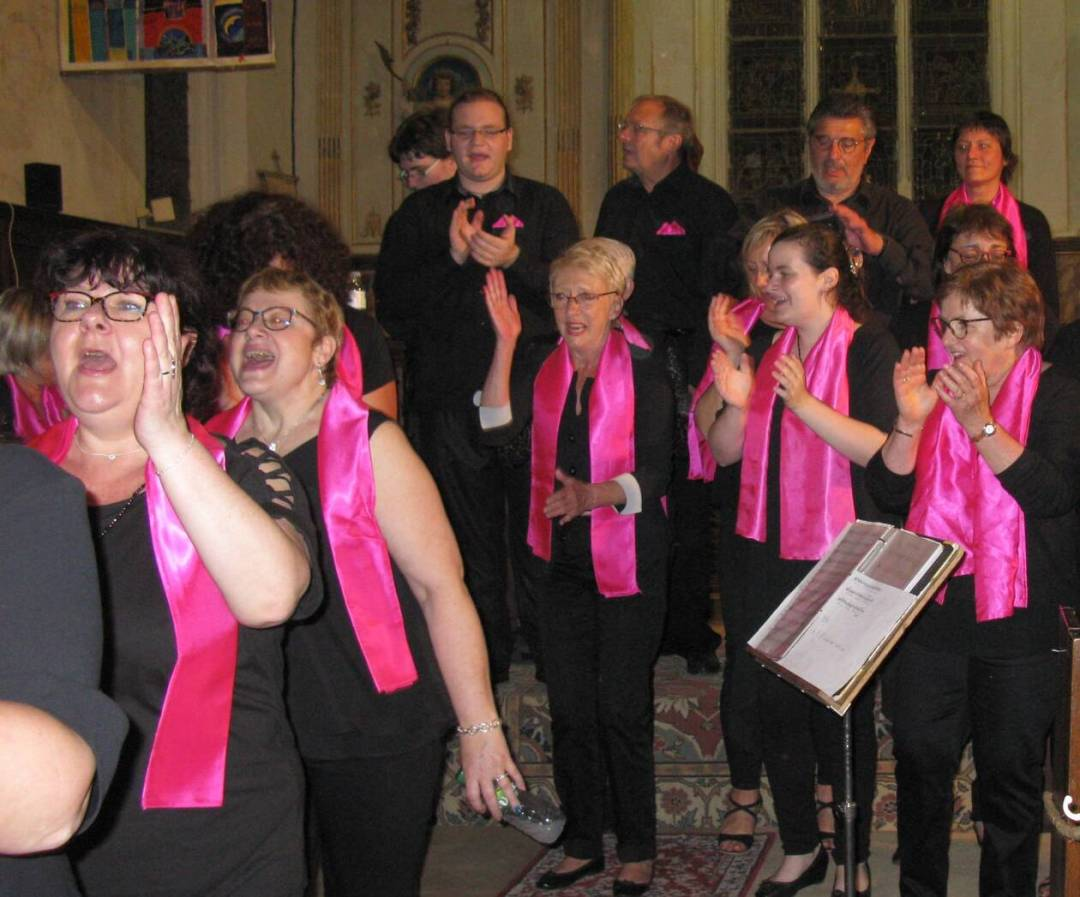 Le groupe Voice for Gospel