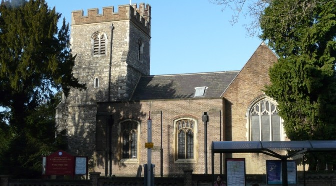 New Team Vicar for St Margaret's Edgware