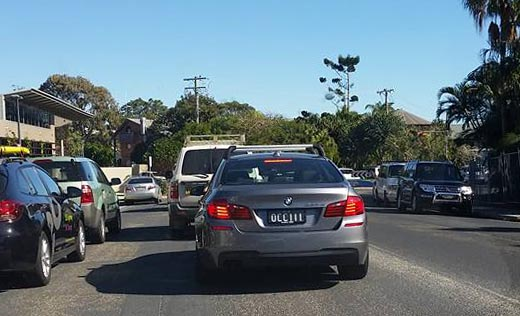 Byron 'Gridlock' Bay set for congested summer. Photo: Muzz Sinclair
