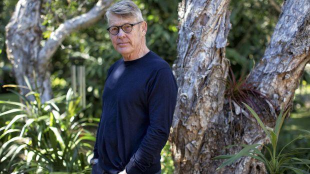 "Founder of Byron Writers Festival Chris Hanley's ""genius"" was to focus on Australian writers.  Photo: Natalie Grono"